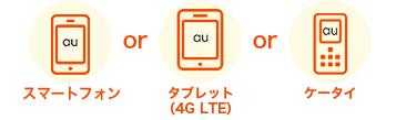 スマ−トフォン or タブレット or ケータイ