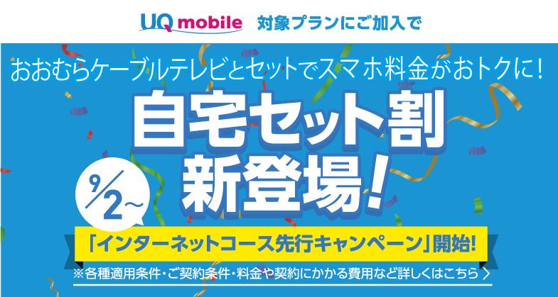 UQmobile自宅セット割